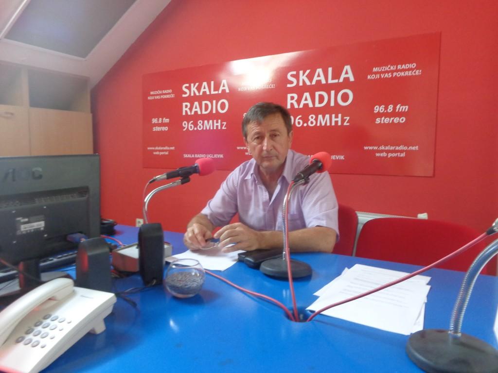 Gost u studiju Skala radija predsjednik Skupštine opštine Ugljevik Đoko Simić
