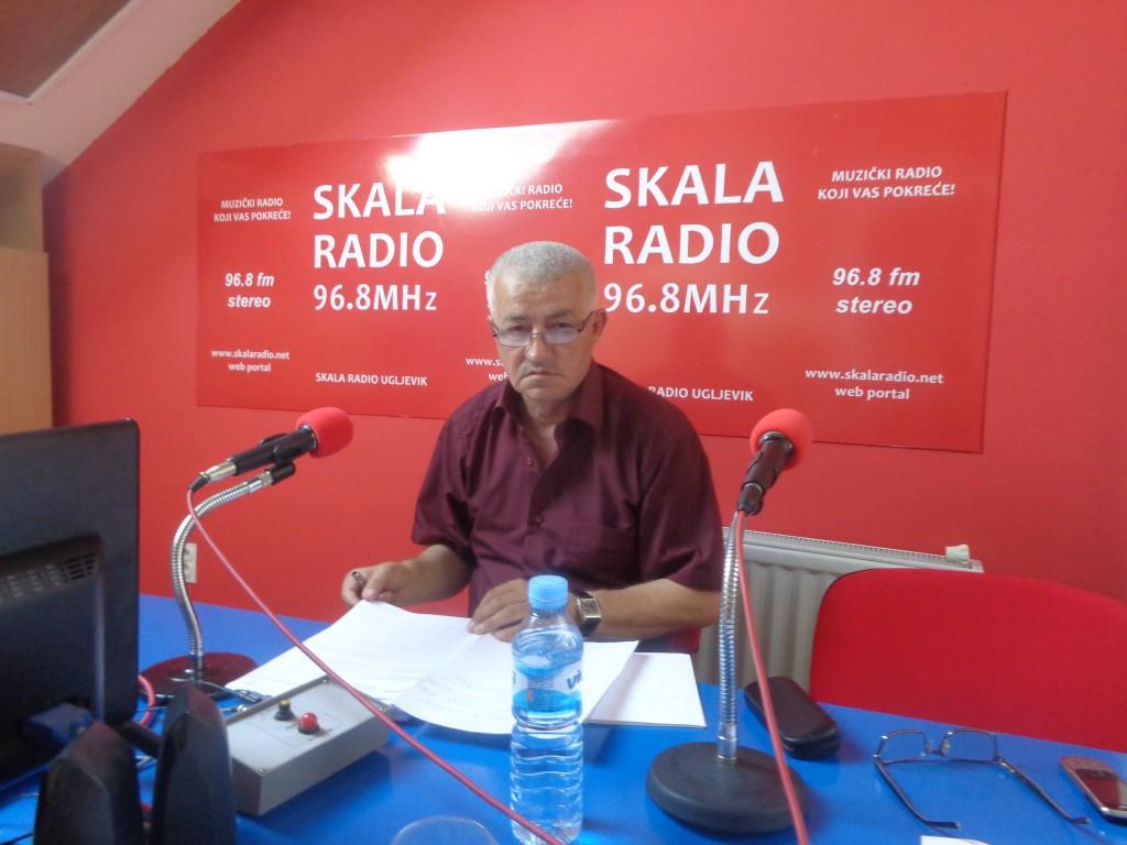Gost u studiju Skala radija Prof. dr Milorad Janković