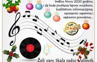SREĆNU I MUZIKOM ISPUNJENU NOVU 2020 GODINU, ŽELI VAM SKALA RADIO…