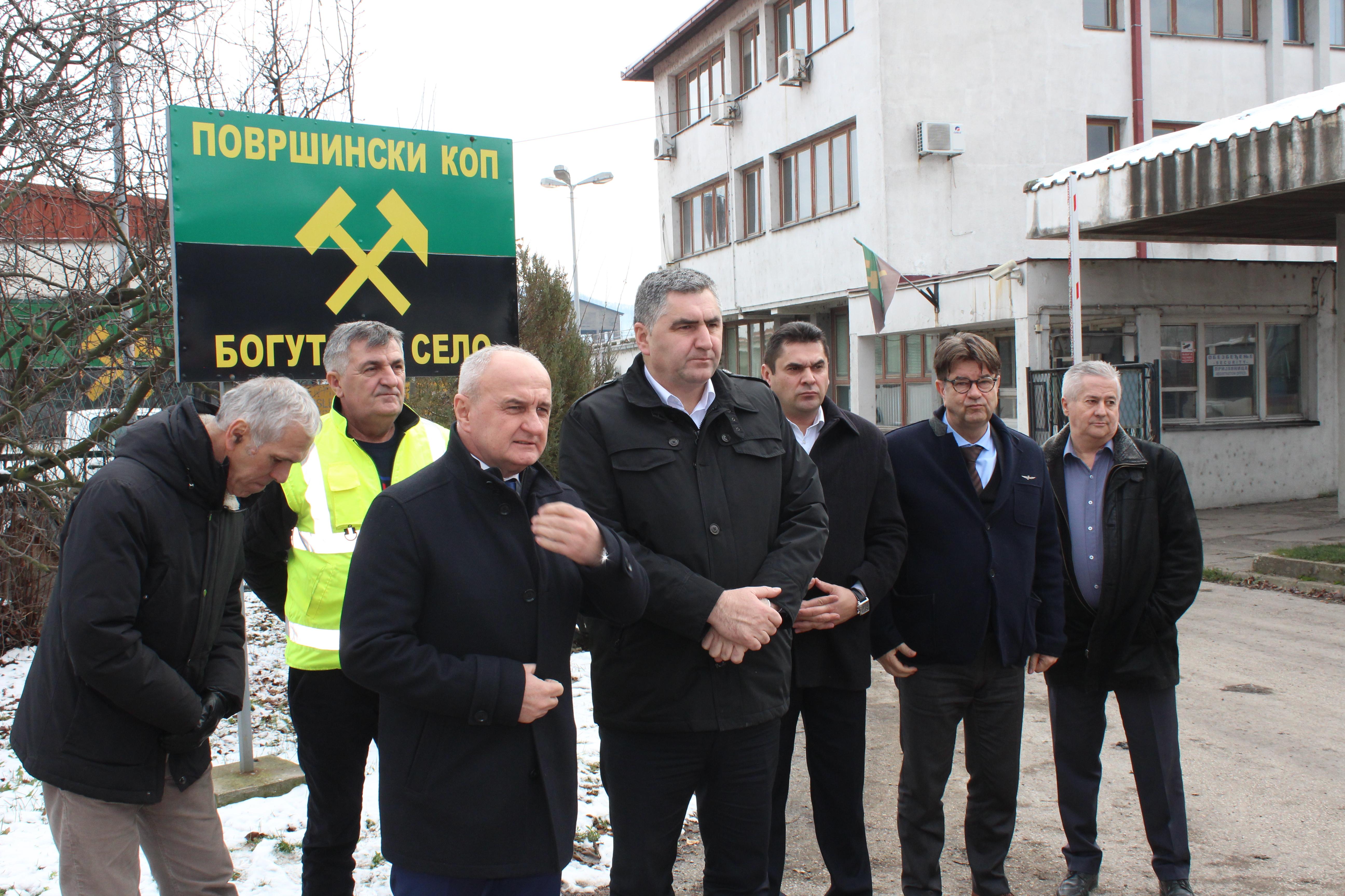 MINISTAR INDUSTRIJE, ENERGETIKE I RUDARSTVA RS POSETIO RiTE UGLJEVIK